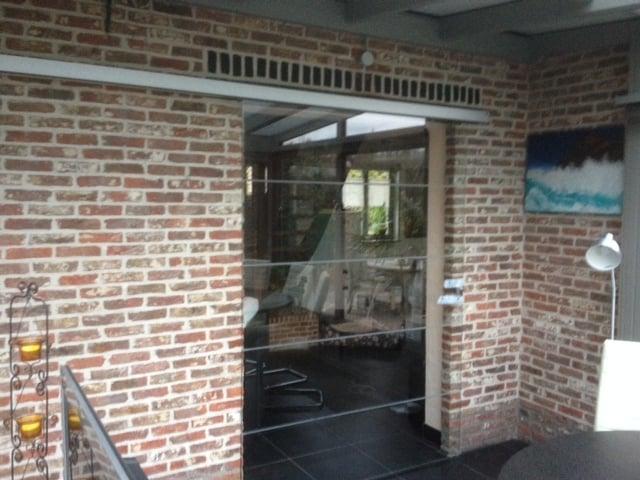 Glazen deuren - Glaswerken Dresselaers