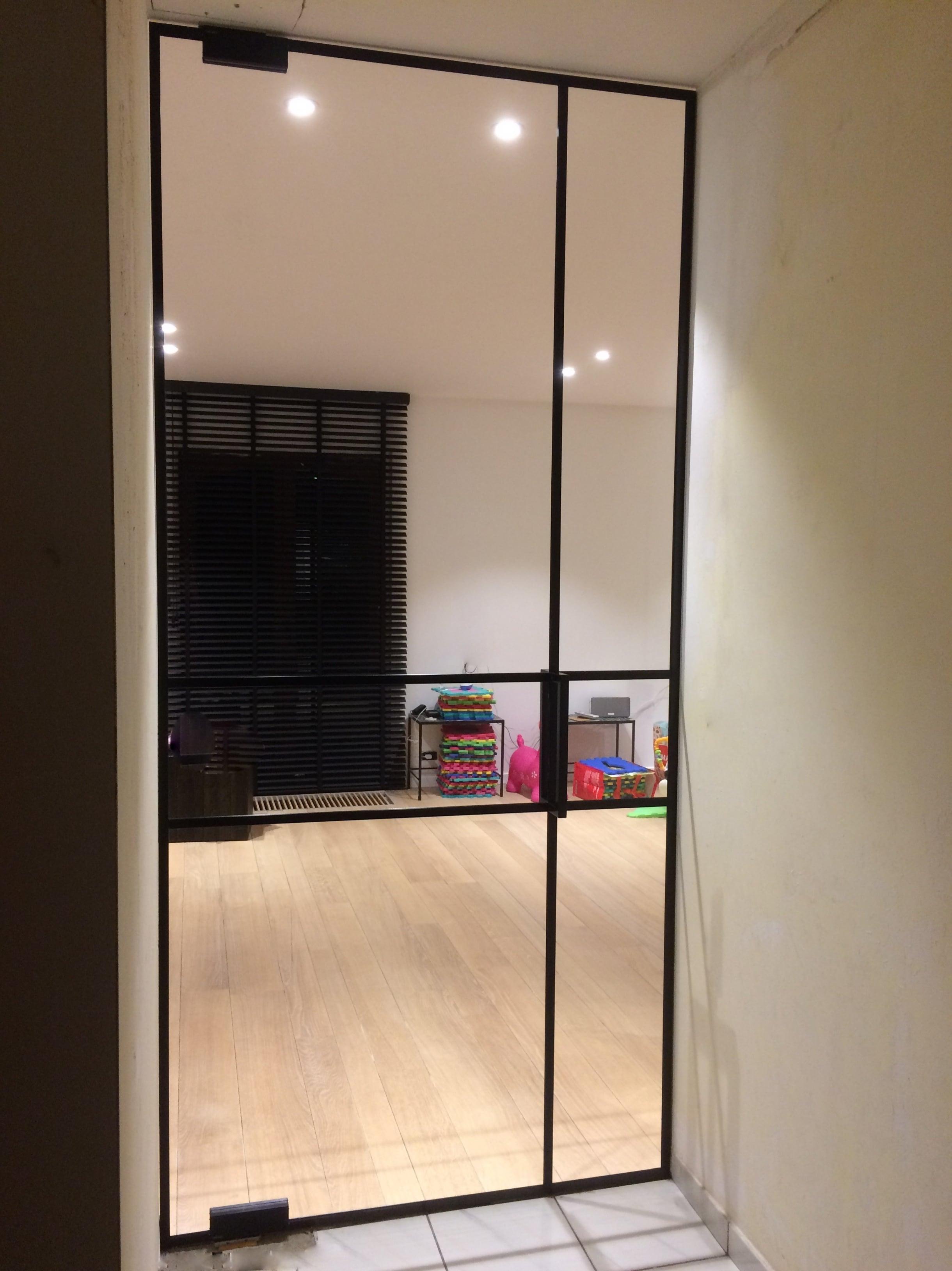 Extreem Glazen deuren - Glaswerken Dresselaers @MR22