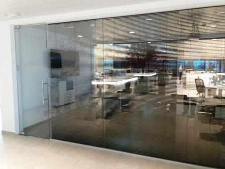 Glazen wanden - Glaswerken Dresselaers